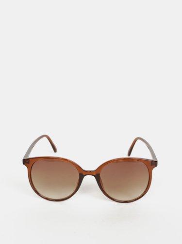 Hnedé slnečné okuliare VERO MODA Alma