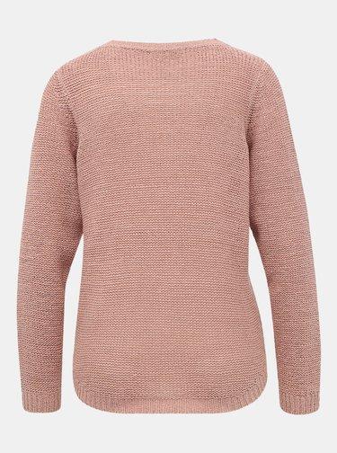 Staroružový basic sveter ONLY Geena