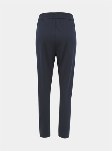 Tmavě modré kalhoty Jacqueline de Yong Pretty
