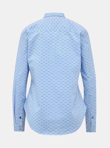 Svetlomodrá dámska vzorovaná regular fit košeľa ZOOT Baseline Kornelia