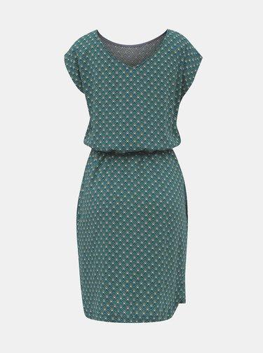 Zelené vzorované šaty ZOOT Milena