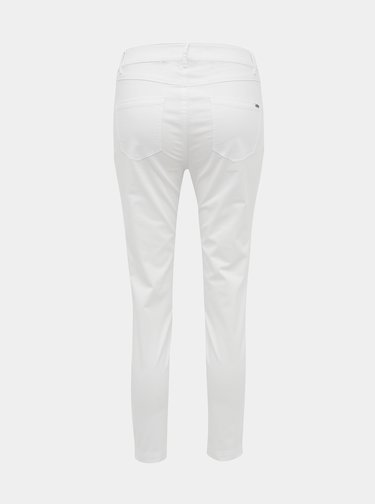 Biele dámske slim fit nohavice ZOOT Baseline Anna
