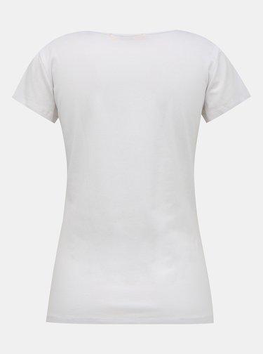 Biele dámske basic tričko ZOOT Baseline Lia
