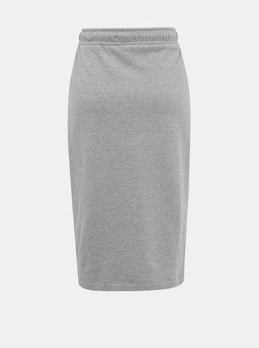 Šedá basic sukňa ZOOT Baseline Vendelina