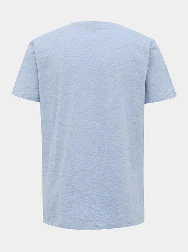 Svetlomodré pánske basic tričko ZOOT Brandon