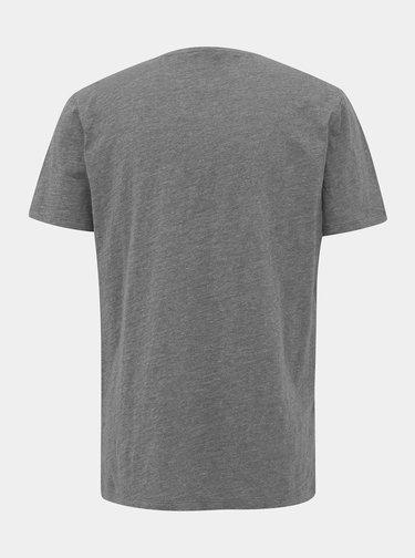 Šedé pánske basic tričko ZOOT Brandon