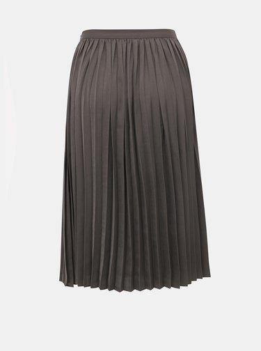 Šedá plisovaná sukně ZOOT Petra