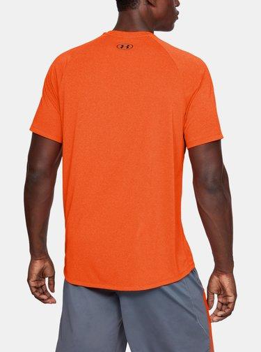 Oranžové pánské tričko Tech Under Armour