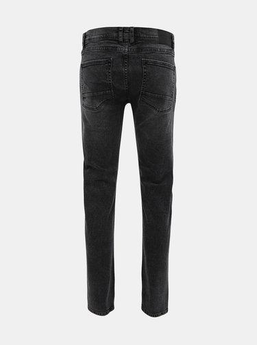Tmavě šedé slim fit džíny Shine Original