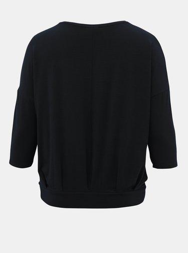 Tmavě modré tričko ONLY CARMAKOMA Mille