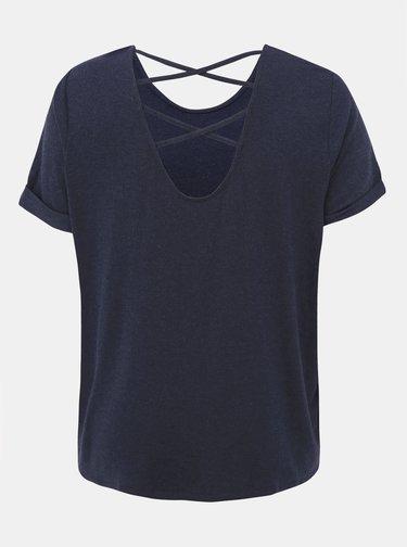 Tmavě modré tričko ONLY CARMAKOMA Carma