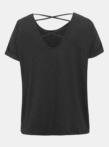 Čierne tričko ONLY CARMAKOMA Carma