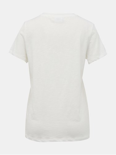 Biele basic tričko VILA Sumilta