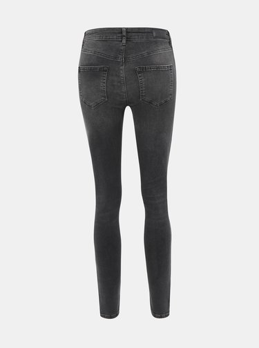 Šedé super slim fit džíny VERO MODA Lux