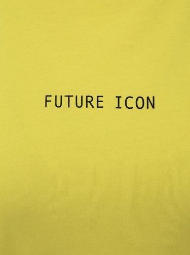 Žluté tričko Noisy May Future