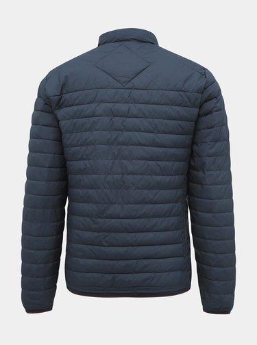 Tmavě modrá prošívaná lehká bunda Jack & Jones Runo