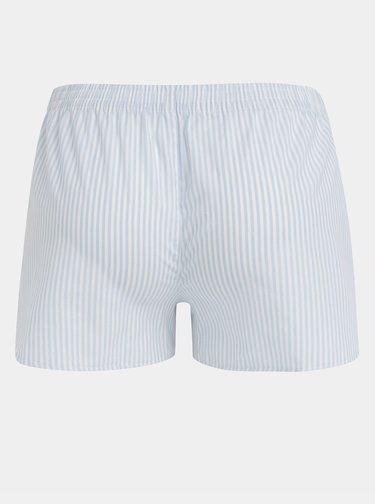Bílo-modré dámské pruhované trenýrky El.Ka Underwear