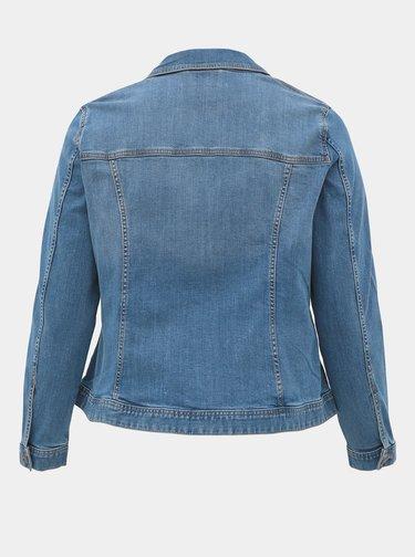 Modrá dámská džínová bunda My True Me Tom Tailor