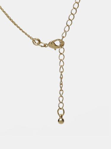 Náhrdelník ve zlaté barvě M&Co
