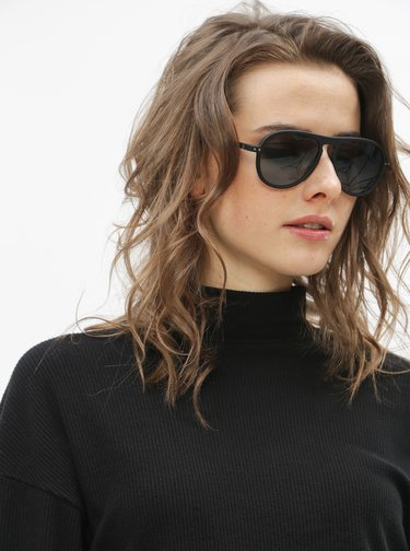 Černé sluneční brýle IZIPIZI #I
