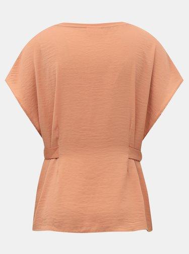Rúžové tričko VILA