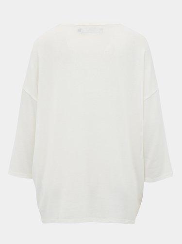 Bílý oversize svetr VERO MODA Brianna