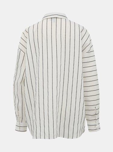 Biela pruhovaná košeľa Vero Moda Hannnah
