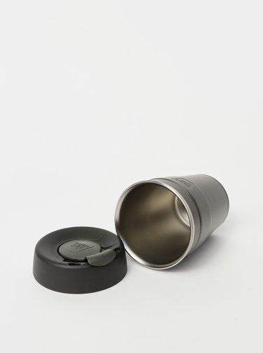 Šedý nerezový cestovný hrnček KeepCup Thermal medium 340 ml