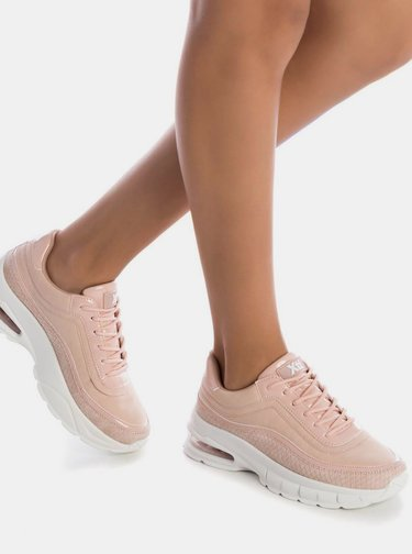 Světle růžové dámské tenisky Xti