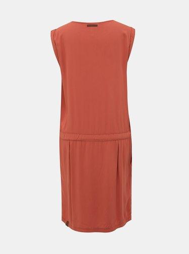 Cihlové šaty Ragwear Mascarpone