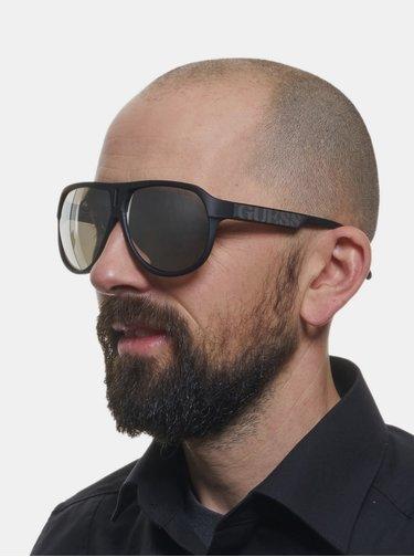 Čierne pánske slnečné okuliare Guess