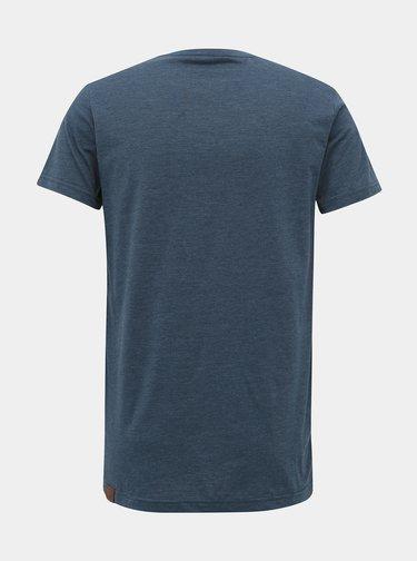 Modré pánské tričko s potiskem Ragwear Rogger