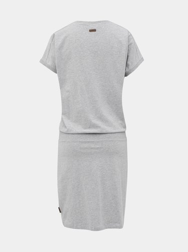 Svetlošedé šaty Ragwear Odyl