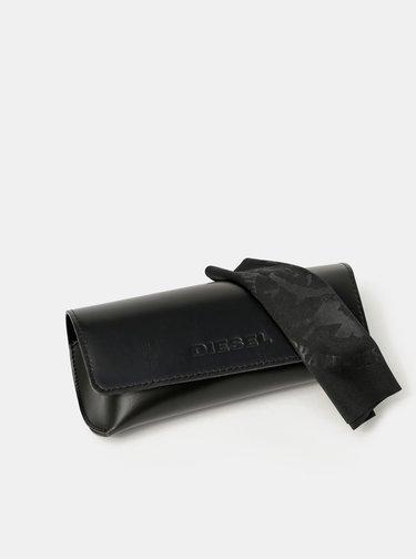 Čierne dámske slnečné okuliare Diesel