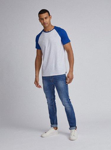 Světle šedé basic tričko Burton Menswear London