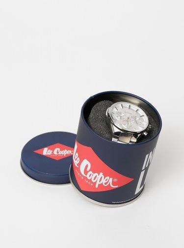 Pánské hodinky s nerezovým páskem ve stříbrné barvě Lee Cooper