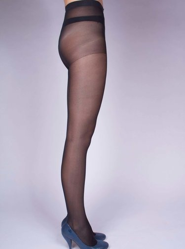Čierne pančuchové nohavice Andrea Bucci 30 DEN