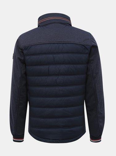 Tmavě modrá pánská funkční bunda Tom Tailor