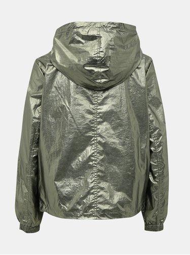 Zelená ľahká bunda s metalickými odleskami ONLY Alicia