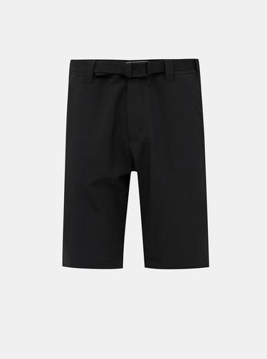 Černé pánské funkční kalhoty/kraťasy LOAP Urus