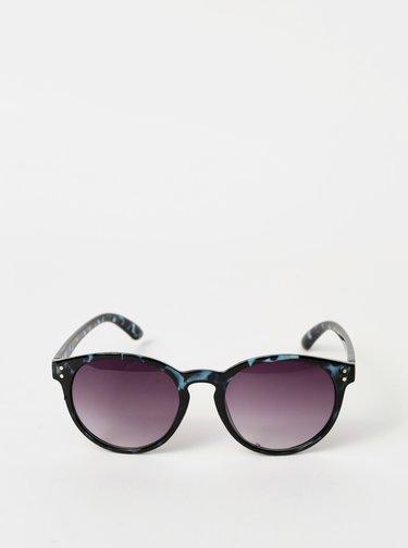 Čierne vzorované slunečné okuliare Haily´s Pauli