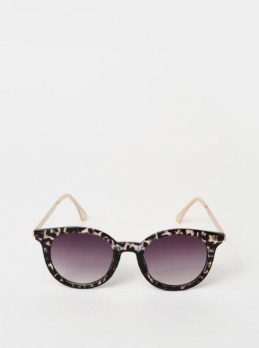 Čierne dámske vzorované slunečné okuliare Haily´s Tony