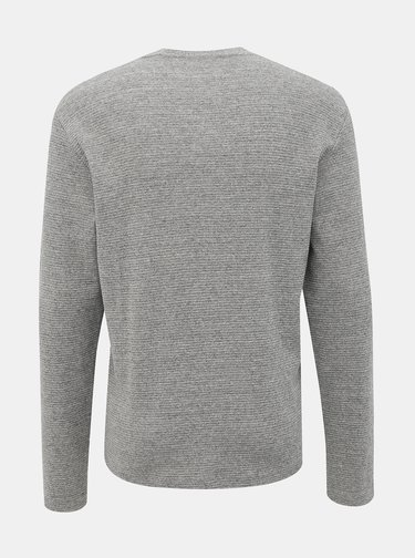 Šedý basic svetr Jack & Jones Core Saturn