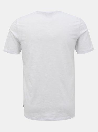 Biele basic tričko Jack & Jones Core Strong