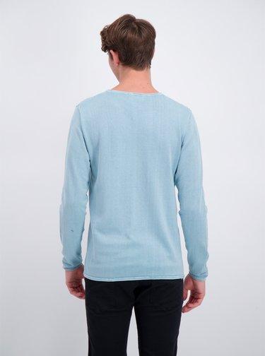 Modrý basic svetr Shine Original