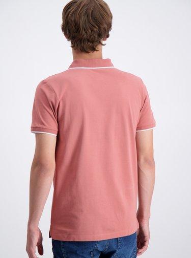 Růžové polo tričko Lindbergh