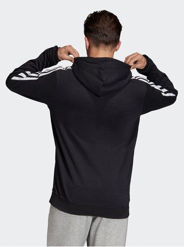 Čierna pánska mikina s pásom adidas Performance
