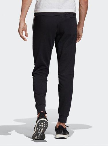 Čierne pánske tepláky s pásom adidas Performance