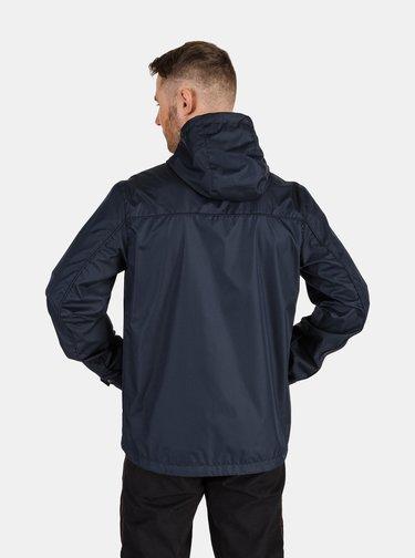 Tmavě modrá pánská lehká nepromokavá bunda SAM 73