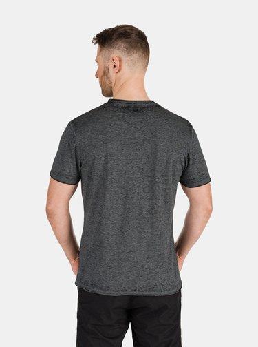 Tmavě šedé pánské tričko s potiskem SAM 73